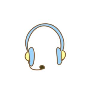 漂亮的耳機簡筆畫怎么畫
