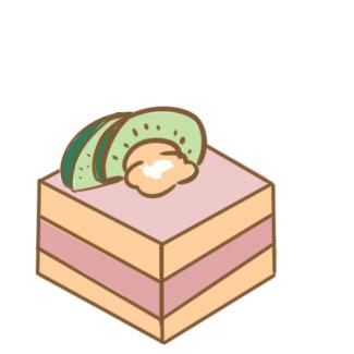 美味的慕斯蛋糕簡筆畫怎么畫