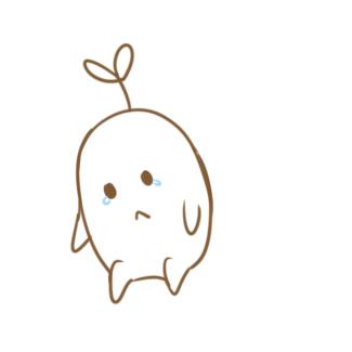 可爱的绿豆芽儿简笔画怎么画