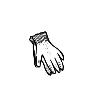 工人手套简笔画要怎么画