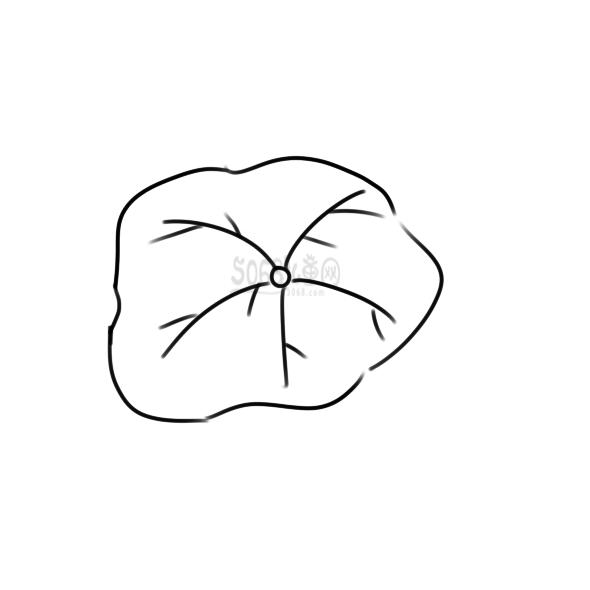 简单的荷叶要怎么画
