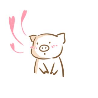 软萌的小猪简笔画要怎么画