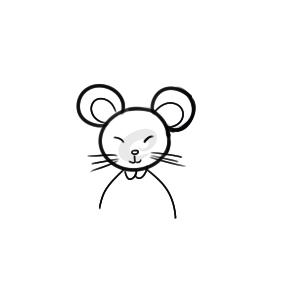 鼠年老鼠拜年簡筆畫手繪教程