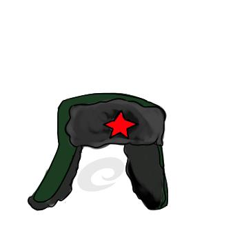 雷锋戴的雷锋帽怎么画
