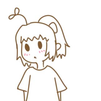可愛的卡通女孩簡筆畫要怎么畫