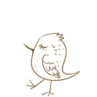 可爱的小鸟简笔画怎么画