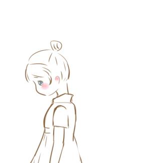 感到委屈的女生簡筆畫怎么畫