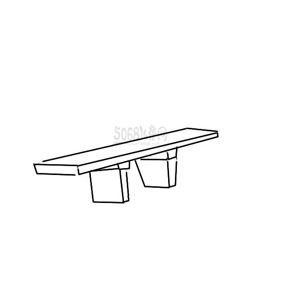 又简单又好看的桥简笔画原创教程步骤 5068儿童网