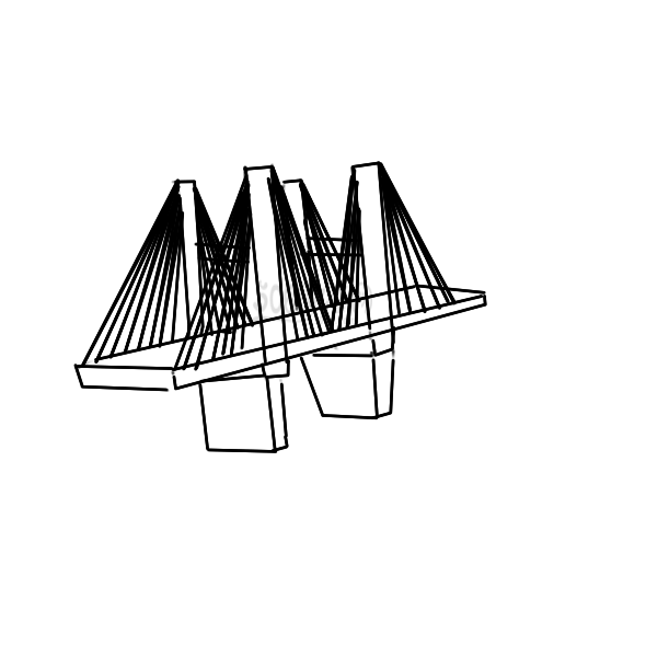 常見的高架橋怎么畫