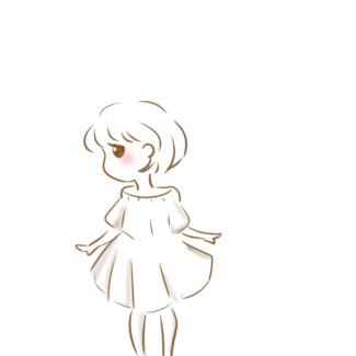 漂亮的女孩简笔画怎么画