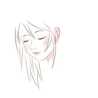 清纯的女孩简笔画要怎么画