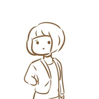 可愛的女生線條畫要怎么畫