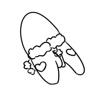 冬天的手套简笔画要怎么画