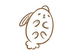 卡通的兔子简笔画要怎么画