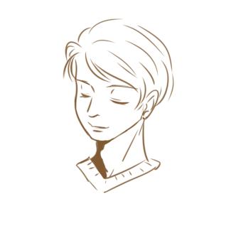 帥氣的男生簡筆畫怎么畫