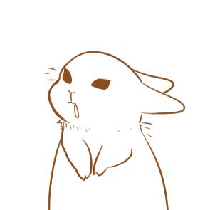 简笔画可爱的兔子要怎么画 动物小学生简笔画教程