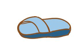 超简单的拖鞋简笔画步骤图