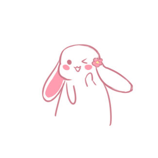 超萌的兔子简笔画怎么画