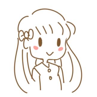 长发女孩简笔画怎么画