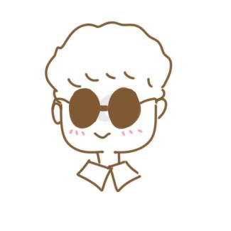 戴墨镜的男生简笔画怎么画