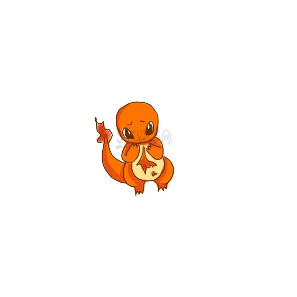 可爱的小火龙的简笔画步骤如下:   可爱的小火龙步骤1   可爱的小火龙步骤2   小火龙是橙色的爬行动物,像一尾的两足动物蝾螈,有一些恐龙的特征,特别像是那些兽脚亚目食肉恐龙小编今天教大家画可爱的小火龙,步骤很简单,一起来学习吧!