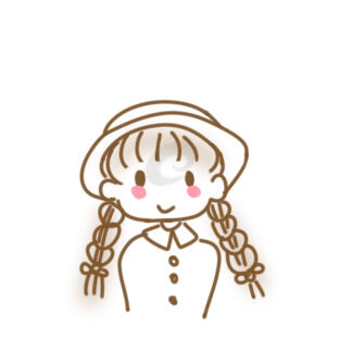 麻花辫女生简笔画怎么画