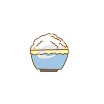 一碗米飯簡筆畫怎么畫