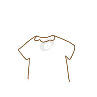 可愛的小衣服簡筆畫怎么畫