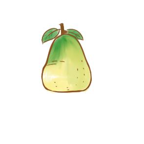 漂亮的柚子简笔画怎么画