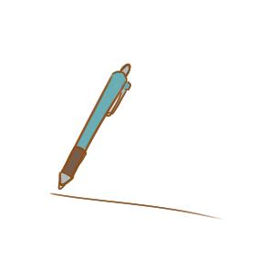 漂亮的圓珠筆簡筆畫要怎么畫