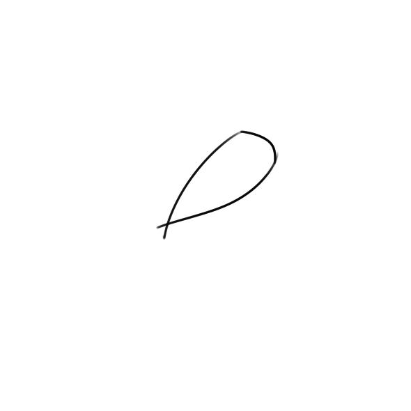 超简单的玉米简笔画步骤图