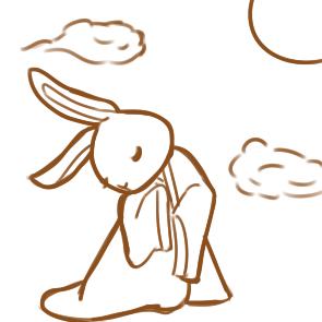 漂亮的仙女兔简笔画怎么画
