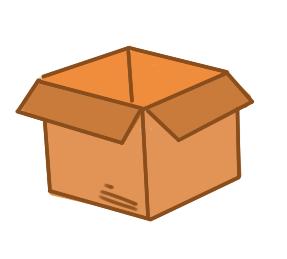纸板箱的简笔画原创教程步骤